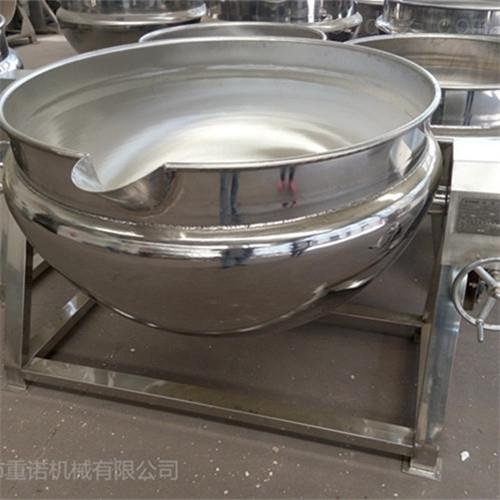豆馅酱料立式蒸汽夹层锅