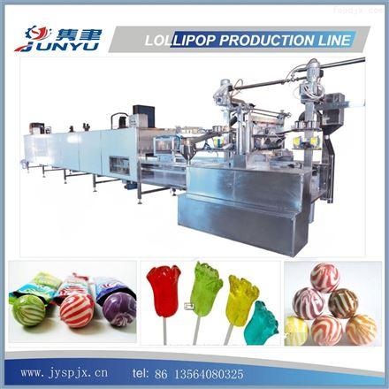 棒棒糖浇注生产线