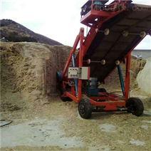 全自动高空取料机 堆取草机价格 挖草机