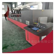 LW-20HMV开口松子微波烘烤设备
