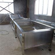 C不銹鋼氣泡大白菜清洗設備