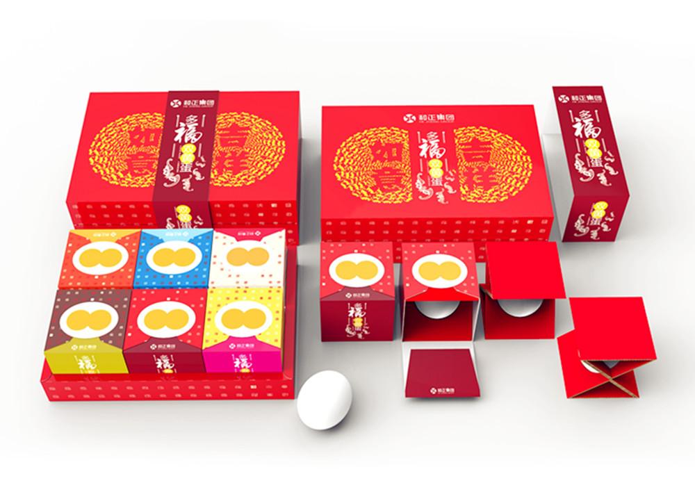 双黄蛋精美包装设计欣赏