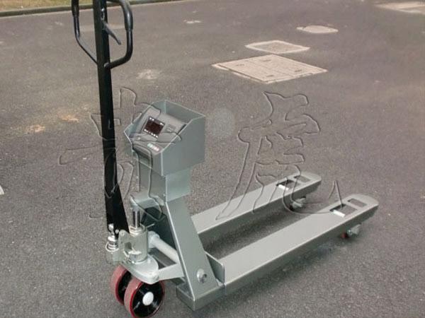 1T液压叉车秤,2T电子叉车称多少钱