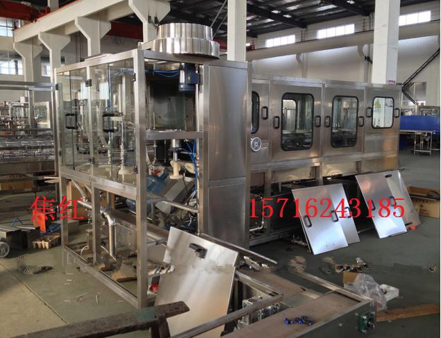 适用于3-5加仑桶装纯净水的灌装生产