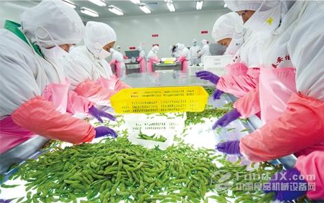 含山县加快食品加工产业升级