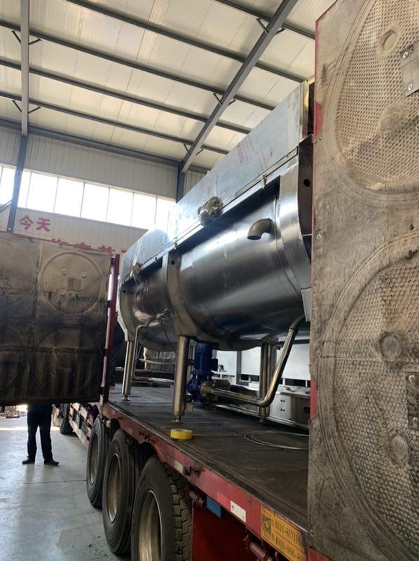 金禾源商贸屠宰加工设备入驻陕西屠宰厂