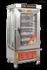 賽思達臺式6層燃氣蒸包柜